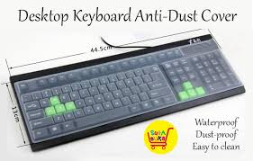 silicone desktop keyboard dust cover sleeve