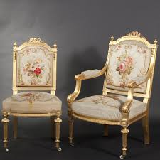 Living Room Chair Styles Gilt Wood Living Room Furniture Louis Xvi Style Expertissim