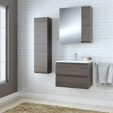 Bathroom Cabinets B Q Creative On In Cooke Lewis Paolo Bodega Grey Furniture  Pack Departments DIY 4