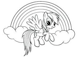 Unicorn Rainbow Coloring Pages Unicorn And Rainbow Coloring Pages Unicorn And Rainbow Coloring