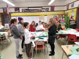 students project citizen seeks to keep plastic bags out of  preparing the presentation theresa manera listens as the students aloud from their essays and