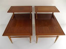 mid century modern lane copenhagen step end table this is a beautiful danish inspired design by the lane furniture co from the copenhagen collection