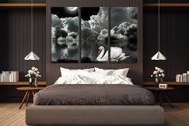 wall decor mens bedroom farmhouse