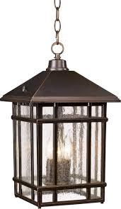 j du j sierra craftsman 16 1 2 high outdoor hanging light