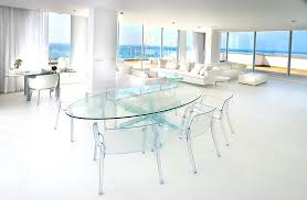 round lucite dining table magnificent chair technique other metro contemporary dining room innovative designs with clear