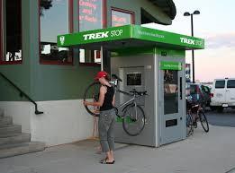 Bike Repair Vending Machine Fascinating Trek Launches Trek Stop Pilot Program In Madison Wisconsin Road