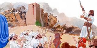 Kuvahaun tulos haulle kuva Jerikon muuri