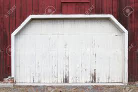 red and white barn doors. Rustic Old Red And White Barn Door With Peeling Paint Stock Photo - 50398524 Doors D