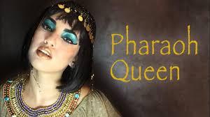cleopatra makeup tutorial pharaoh queen مكياج الفراعنة you