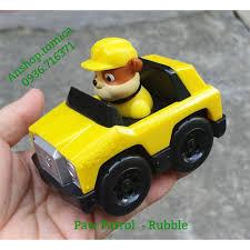 Mô hình xe chú chó rubble trong phim hoạt hình