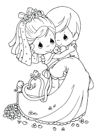 Lively Precious Moments Nativity Coloring Pages M0708 Attractive
