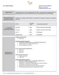 Professional Resume Format For Experienced Free Download Sample