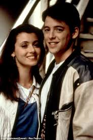 we ll always have ferris in her cool white leather fringe jacket sara