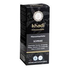Khadi Jauhemainen Kasvihiusväri Black 100gr Natural Goods Company