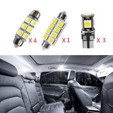 Mk5 Jetta Led Interior Lights For Jetta Mk5 Passat Alltrack Super Bright Led Interior Lights Source Car Lamp Replacement Bulbs White Pack Of 8