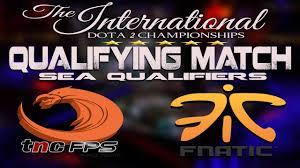 dota 2 live tnc v s fanatic the international 2017 sea