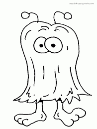Monster Coloring Dcp4 Cute Monster Coloring Pages 17 Monster