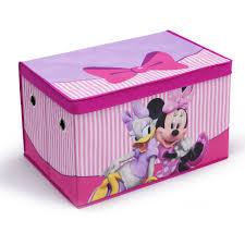 disney minnie mouse art desk withfabric toy box playroom value bundle com