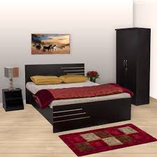 Lifestyle Furniture Bedroom Sets Bharat Lifestyle Amsterdam Bedroom Set Queen Bed Wardrobe