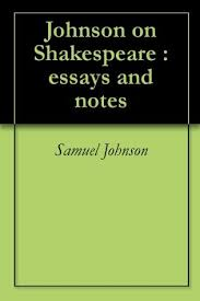 samuel johnson on shakespeare by samuel johnson