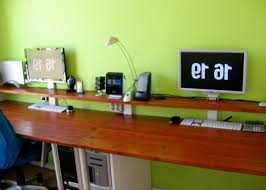 DIY Computer Desk Ideas : DIY Solid Wood Computer Desk Ideas