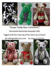 plaid teddy bear personalized bear ss teddy bear keepsake teddy namesake bears baby shower gift red teddy bear collectible bears la boutique