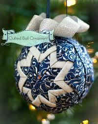 Almost) No sew quilted ball ornament - Sew McCool & No sew quilted ball ornament Adamdwight.com