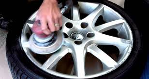 remove scratches on your alloy rims