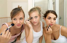 juice images via corbis today when do you let them wear makeup when should s be allowed