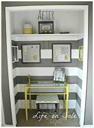 pictures of an office. creating an office in a closet pictures of
