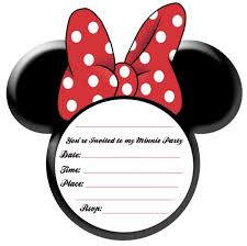 mickey and minnie invitation templates invitation for minnie mouse party template invitations online