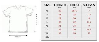 How To Create A Size Chart Sizing Guide