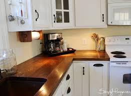 diy wide plank butcher block counter tops simplymaggie with wood kitchen countertops diy