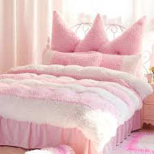 velvet bedding sets pink bedding set