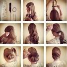 Вечерние причёски пошаговое выполнение