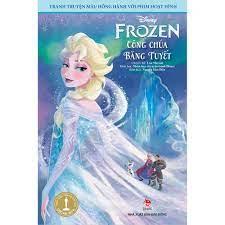 Tranh truyện màu đồng hành với phim hoạt hình - Frozen công chúa băng tuyết  - Mới 100%