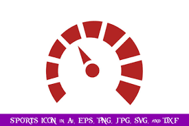 Free svg image & icon. Speedometer Sport Icon Graphic By Purplespoonpirates Creative Fabrica