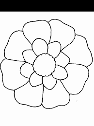 Flower17 Flowers Coloring Pages Coloring Page Book For Kids
