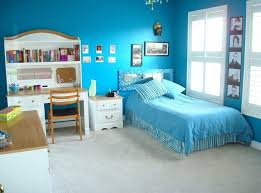 teen bedroom furniture. Relaxing Sea Blue Teen Room Decor With White Bedroom Furniture