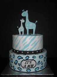 Baby Safari CupcakesBaby Shower Safari Cakes