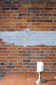 how to whitewash a brick wall