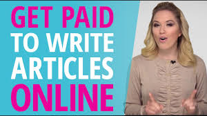 get paid to write articles online  get paid to write articles online