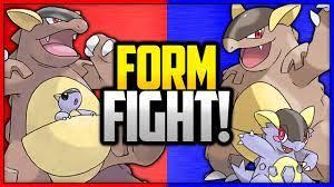 Kangaskhan Vs Mega Kangaskhan Pokemon Form Fight – Cute766