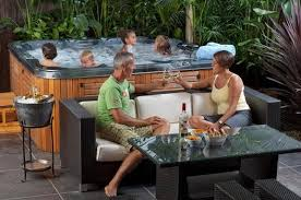outdoor living area design ideas. spa design ideas by australian outdoor living area