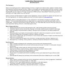 Sales Rep Resume Great Outside Sales Resumes Examples In 100 Sales Representative 17