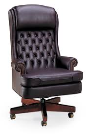 traditional leather office chairs. Bedford Traditional Tufted Back Swivel Leather Office Chairs C