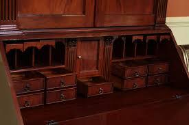 secretary desk and hutch