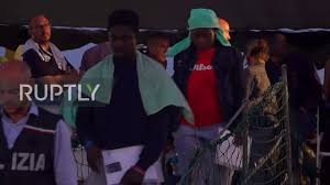 Italy All Remaining Migrants Disembark Sea Watch 3 Rescue Ship In