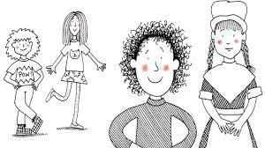 It had me laughing out loud. Author Jacqueline Wilson On Illustrator Nick Sharratt He Got Inside My Head Video Book Cover Art Jacqueline Wilson Children S Book Illustration
