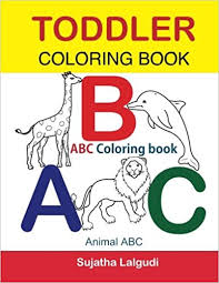 Small Picture Toddler Coloring Book ABC Coloring book Animal abc book